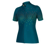 Endura Fietsshirt korte mouwen Dames Kingfisher / Dames PT Scatter S/S Shirt LTD - Kingfisher