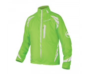 Endura Fietsjack Heren Fluo / Luminite 4 in 1 jas - Hi-Viz Groen