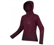 Endura Fietsjack Dames Bordeaux / Dames SingleTrack Jas II - Mulberry
