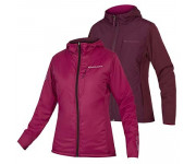 Endura Fietsjack Dames Bordeaux / Dames FlipJak Reversible Jas - Mulberry