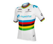 Endura Fietsshirt korte mouwen Heren Wit / Movistar Team korte mouw shirt