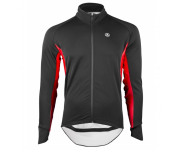 Vermarc Wind- en regenjack unisex Zwart Rood / EVENT Long Sleeves PR.R - Black/Red