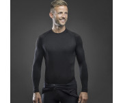 GripGrab Ondershirt Lange mouwen Zwart  / Expert Seamless Thermal Base Layer LS Black