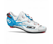 Sidi Race Fietsschoenen Wit Blauw Heren / Shot Matt Matt White/Light Blue