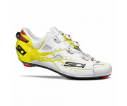 Sidi Race Fietsschoenen Wit Fluo Heren / Shot Matt Matt White/yellow Fluo