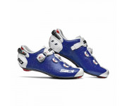 Sidi Race Fietsschoenen Blauw Wit Heren / Wire 2 Carbon Blue/White
