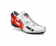 Sidi Overschoenen Time trial Wit Rood Unisex / Wire Lycra Covershoes (252) White/Red
