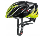 Uvex Fietshelm unisex Zwart Fluo / UV Boss Race Black/Neon Yellow