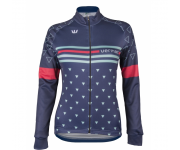 Vermarc Fietsshirt lange mouwen Dames Blauw  / TRIANGOLO Long Sleeves NEW - Navy
