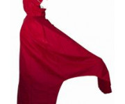Mac in a Sac Fietsponcho unisex Rood  / Bicycleponcho red