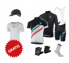 Rogelli fietskleding set Team 2.0 wit