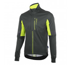 Rogelli Transition Fietsjack winter Heren Grijs Fluo