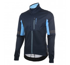 Rogelli Transition Fietsjack winter Heren Blauw