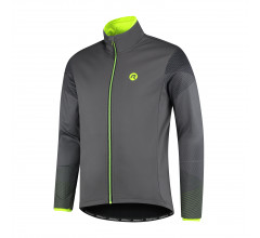 Rogelli Wire Fietsjack winter Heren Grijs Fluo
