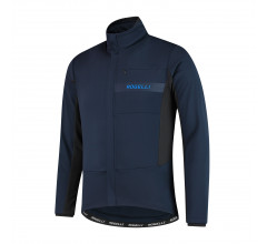 Rogelli Barrier Fietsjack winter Heren Blauw