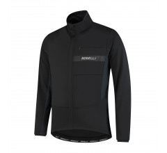 Rogelli Barrier Fietsjack winter Heren Zwart