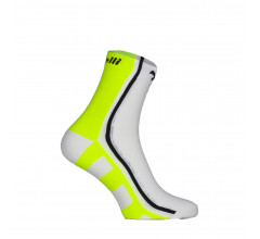 ROGELLI RCS04 Fietssokken Fluo  Wit