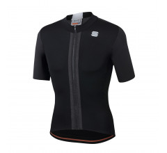 Sportful Fietsshirt Korte mouwen voor Heren Zwart Wit - SF Strike Short Sleeve Jersey-Black White