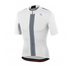 Sportful Fietsshirt Korte mouwen voor Heren Wit Zwart - SF Strike Short Sleeve Jersey-White Black
