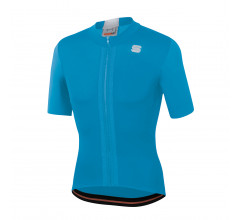 Sportful Fietsshirt Korte mouwen voor Heren Blauw Wit - SF Strike Short Sleeve Jersey-Blue Atomic White