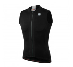 Sportful Fietsshirt Mouwloos voor Heren Zwart Wit - SF Strike Sleeveless Jersey-Black White
