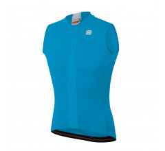 Sportful Fietsshirt Mouwloos voor Heren Blauw Wit - SF Strike Sleeveless Jersey-Blue Atomic White