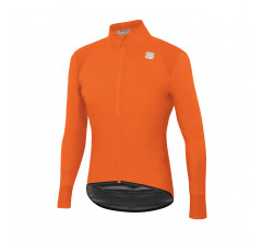 Sportful Fietsjack Lange mouwen Zeer sterk waterafstotend voor Heren Oranje - SF Hot Pack No Rain Jacket-Orange Sdr