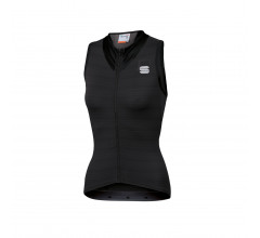 Sportful Fietsshirt Mouwloos voor Dames Zwart - SF Kelly W Sleeveless Jersey-Black