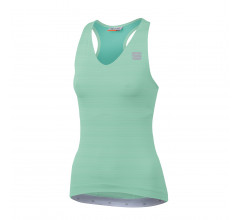 Sportful Fietsshirt Mouwloos voor Dames Groen - SF Kelly W Top-Acqua Green