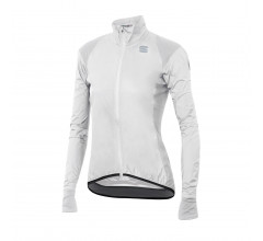 Sportful Fietsjack Lange mouwen Zeer sterk waterafstotend voor Dames Wit - SF Hot Pack No Rain W Jacket-White