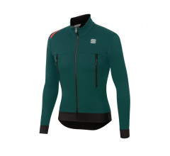 Sportful Fietsjack Heren Groen - FIANDRE WARM JACKET SEA MOSS