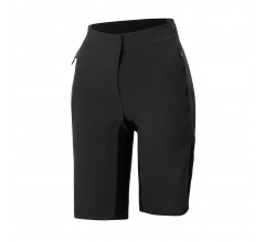 Sportful Fietsbroek Kort Dames Zwart - SUPERGIARA W OVERSHORT BLACK