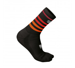 Sportful Fietssokken winter Unisex Zwart Rood - WINTER SOCKS BLACK RED