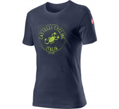 Castelli Casual T-Shirt Heren Blauw - CA Armando T-Shirt Dark Steel Blue