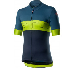 Castelli Fietsshirt Heren Blauw - CA Prologo VI Jersey Light Steel Blue
