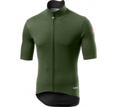 Castelli Fietsjack Lange mouwen Rain or Shine Heren Groen - Perfetto RoS Light Military Green