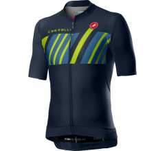 Castelli Fietsshirt Heren Blauw - CA Hors Categorie Jersey Dark Steel Blue