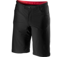 Castelli MTB broek Heren Zwart - CA Unlimited Baggy Short Black