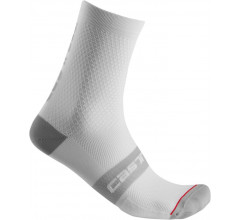 Castelli Fietssokken Heren Wit - CA Superleggera 12 Sock White