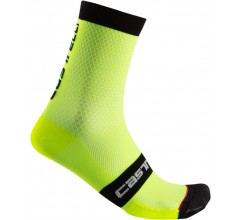 Castelli Fietssokken Heren Fluo - CA Superleggera 12 Sock Yellow Fluo
