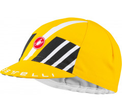 Castelli Fietspetje Heren Geel - CA Hors Categorie Cap Yellow