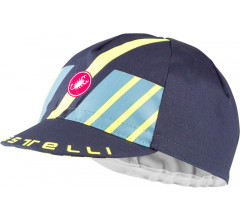 Castelli Fietspetje Heren Blauw - CA Hors Categorie Cap Dark Steel Blue