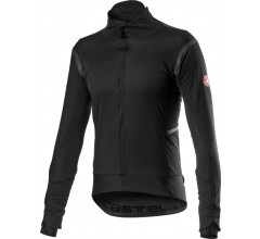 Castelli Fietsjack Lange mouwen Rain or Shine Heren Zwart - Alpha RoS 2 Jacket Light Black