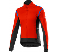 Castelli Fietsjack Lange mouwen Rain or Shine Heren Rood - Alpha RoS 2 Jacket Fiery Red