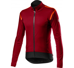 Castelli Fietsjack Lange mouwen Rain or Shine Heren Rood - Alpha RoS 2 Light Jacket Pro Red