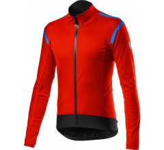 Castelli Fietsjack Lange mouwen Rain or Shine Heren Rood - Alpha RoS 2 Light Jacket Fiery Red