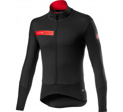 Castelli Fietsjack Lange mouwen Rain or Shine Heren Zwart - Beta RoS Jacket Light Black