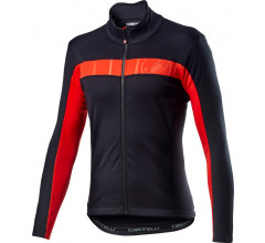 Castelli Fietsjack Lange mouwen Heren Zwart - Mortirolo Vi Jacket Light Black