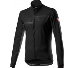 Castelli Fietsjack Lange mouwen Heren Zwart - Transition 2 Jacket Light Black