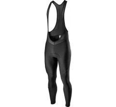 Castelli Fietsbroek lang met bretels Heren Zwart - Entrata Bibtight Black